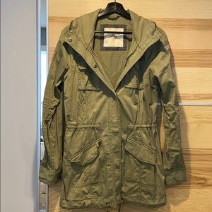 Abercrombie & Fitch Military Jacket - Medium